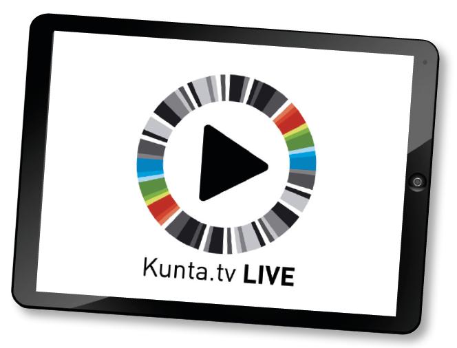 Tilaa videotuotanto tai suora lähetys - Kunta.tv 24d55393cc
